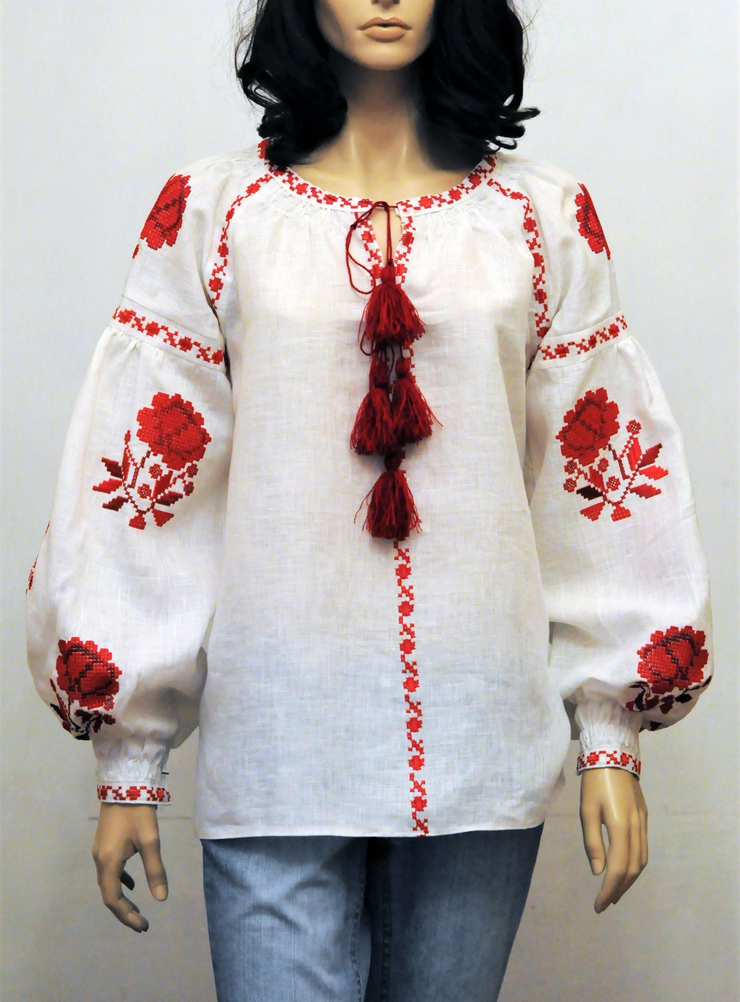 Вышитые блузки доставка