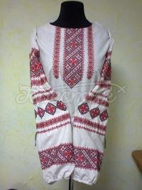 Женская вышиванка россыпь рубинов фото