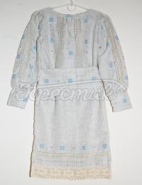 """Детское льняное платье """"Нежность"""""""