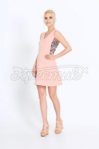 Елегантне плаття з трапецивидною спідницею замовити