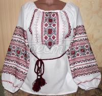 """Жіноча вишиванка """"Гранат"""" придбати"""