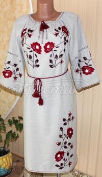 Українська вишита сукня замовити