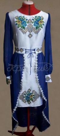 """Жіноча вишита сукня """"братки"""" 2 купити"""