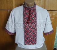Чоловіча сорочка вишиванка літня купити Київ