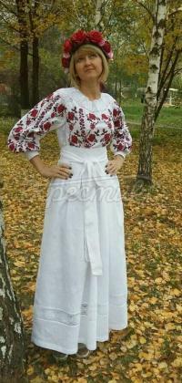 Жіноча вишита сукня Ніжність придбати
