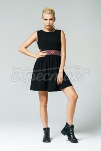 """Жіноча сукня """"Чорна класика"""" фото"""