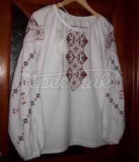 Женская вышиванка крестиком