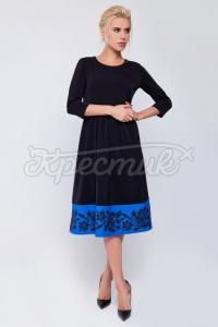 """Ошатне жіноче плаття """"Топаз"""" фото"""