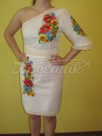 """Жіноча вишита сукня """"Польові квіти"""" 2 придбати"""