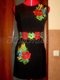 """Жіноча вишита сукня """"Польові квіти"""" 3 придбати"""