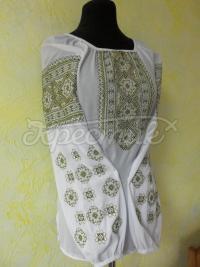 """Женская вышитая блузка """"Марево"""" фото"""
