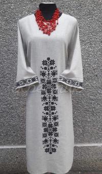 """Жіноча сукня вишиванка """"Квіткова фантазія """"фото"""