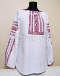 Жіноча вишиванка ошатна з мережками купити Київ