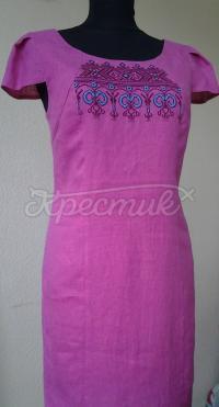 Українське плаття з ручною вишивкою купити