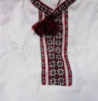 Детская вышитая крестиком сорочка для мальчика