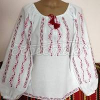 """Белая женская вышиванка """"Амели"""" фото"""