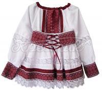 Вышитая юбочка и блузочка для девочки