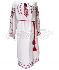 Вышитое платье в украинском стиле купить