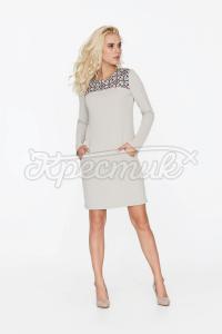 Вишукане плаття з геометричним принтом придбати