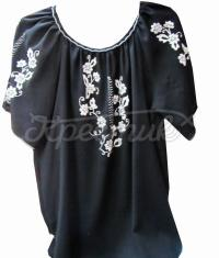 Черная женская блузка купить
