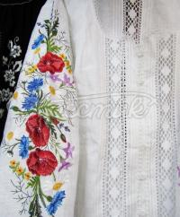 Жіноча біла вишиванка купити Київ