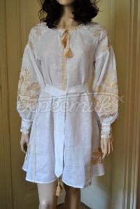 """Жіноча вишита сукня """"Золоті візерунки"""" придбати"""