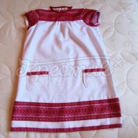 Купить детское платье с вышивкой