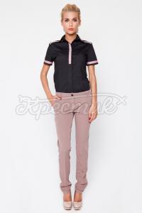 Жіночі брюки з тасьмою