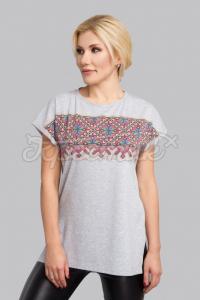 """Женская футболка в украинском стиле """"Алатырь"""" фото"""
