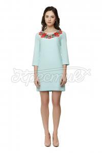 Платье голубое купить