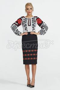 Трикотажная юбка  фото