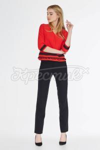 Классические черные брюки фото