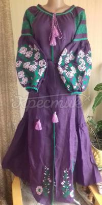 """Жіноча вишита сукня """" Лісова мавка"""" купити"""