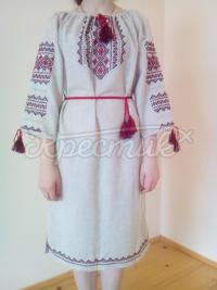 """Женское вышитое платье """"Классика"""" фото"""