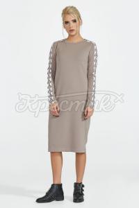 Трикотажна сукня фото