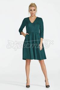 Елегантна сукня з вирізом фото