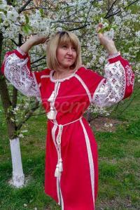 Жіноча вишита сукня  Витонченість придбати