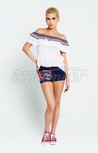 Жіноча літня блузка фото