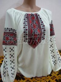 Жіноча вишита сорочка з маками