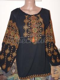 Жіноча блуза вишиванка на шифоні купити