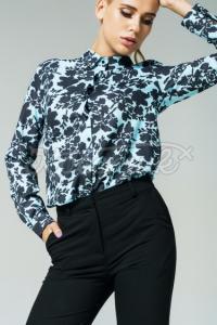 Жіноча квіткова блуза море фото