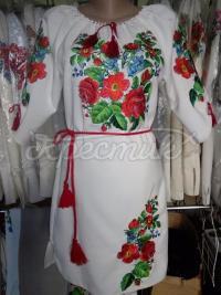 """Жіноча вишита сукня """"Квіткове поле"""" фото"""