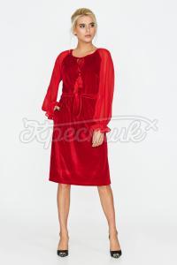 Бархатна сукня придбати
