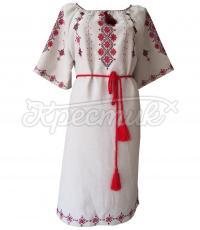 Вишите плаття ручної роботи в українському стилі