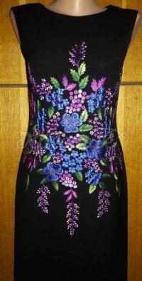 """Жіноча вишита сукня """"Квіткова фантазія"""" купити"""