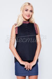 Сучасна жіноча блузка з вишивкою купити Київ