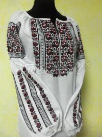 """Женская вышиванка со старинным орнаментом """"Ружа"""" под заказ"""