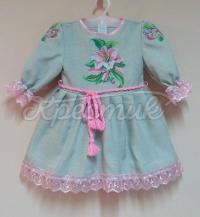 Дитяча нарядна сукня Лілія фото