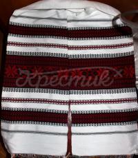 Тканий український рушник на весілля фото
