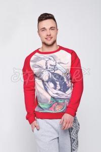 Мужской свитер красный купить Киев